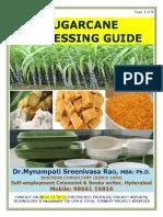 Sugarcane Processing Guide by Mynampati Sreenivasa Rao