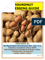 Groundnut Processing Guide by Mynampati Sreenivasa Rao