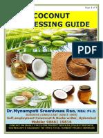 Coconut Processing Guide by Mynampati Sreenivasa Rao