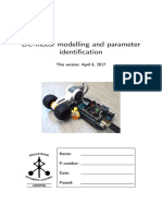 DC Motor Parameter Identification