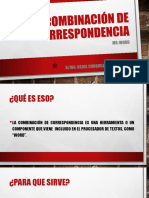 COMBINACIÓN DE CORRESPONDENCIA.pptx