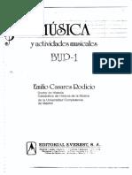 Casares Rodicio Musica y Actividades Musicales