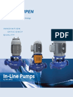 In Line Pumps Brochure