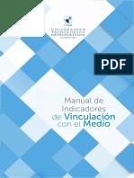 Manual Indicadores Vinculacion Con El Medio Utem Universidad Tecnologica Metropolitana