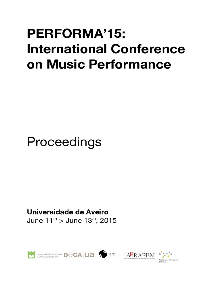 d960d2cf0d22 PERFORMA 15- Proceedings of the International Conference on Music  Performance 1