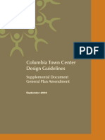 Town Center Design Guidelines - Columbia