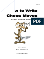 How to Write Chess Moves v1.0