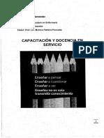 Capacitacion y Docencia en Servicio