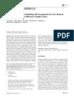 Sedimento de Microorganismos Oxidantes de Amoníaco en Dos Lagos de Agua Dulce de La Meseta en Diferentes Estados Tróficos