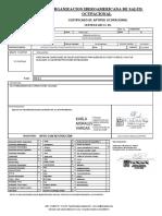 Modelo de Informe Medico Ocupacional