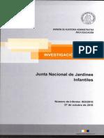 Informe de Investigacion Especial 803-15 Junta Nacional de Jardines Infantiles Sobre Presuntas Irregularidades en Departamento de Recursos Financieros - Octubre.pdf