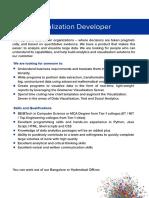 Visualization Developer