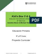 KB56 2Edition Proyecto Curricular 56Prim 2015