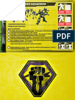 Malcontents Light Raider Squadron Card for Robotech RPG Tactics