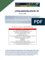 Pennsylvania Intelligence Bulletin No. 130, 27 August 2010