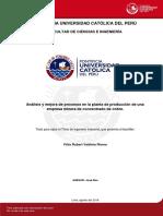Valdivia Félix Mejora Procesos Minera