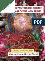 Manners of Visting Shrine-Auraad e Mashaaikh