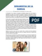 Rol Fundamental de La Familia