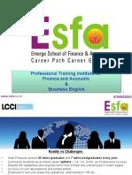 Esfa - Finance & Accounts Training Institute