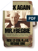 Back Again Mr Begbie the Life Story of Rev Lt Col R J G Begbie OBE