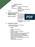 Curriculum Vitae Amadeo