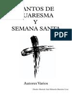 Cantoral Cuaresma