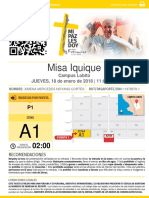 Misa Papa Iquique ( Visita)