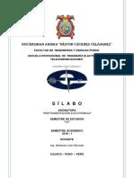 Silabo -VII- Instrumentación Electrónica- Abelardo León