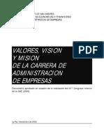 Vision y Mision CAE