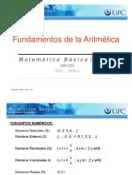 MA120 Fundamentos de La Aritmética S01