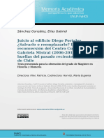 Tesis de Maestria Juicio Al Edificio Diego POrtales