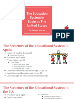 the education system in spain vs the united states-2