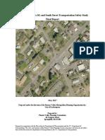 Rt 10 South St Main St Easthampton MA intersection study 2017