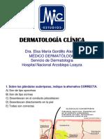 Cuestionario Dermatologia