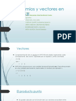 Polinomios y Vectores en MATLAB