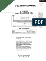 14947126-Onkyo TX-nr838 Service Manual and Repair Guide