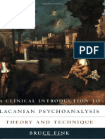 Bruce Fink a Clinical Introduction to Lacanian Psychoanalysis Theory and Technique 1999(1)