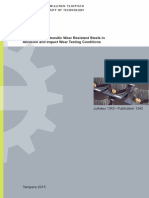 Behavior of Martensitic Wear Resistant Steels...30