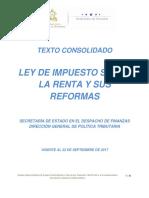Texto Consolidado Ley Impuesto Sobre La Renta 22 Septiembre 2017(1)