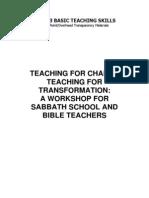 03 Basic Teaching Skills Power Point Text