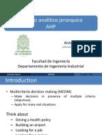 AM2.Proceso de Jerarquía Analítica AHP