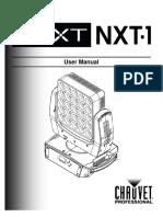 Manual Chauvet next nxt 1