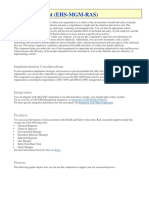 SAP EHSM - Risk Assessment - User Guide - Help Files