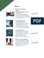 Hoteles en Manaus