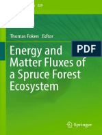 Thomas Foken, 2017 - Energy and Matter Fluxes of a Spruce Forest Ecosystem