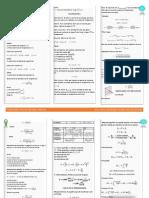 Formulario 2do Parcial Fis 102