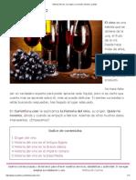 Historia Del Vino. Su Origen, Su Inventor, Dónde y Cuándo
