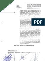 Caso Carbonero (Apelación de sentencia)