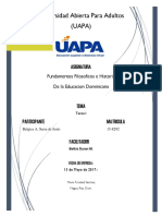 348260244-Fundamentos-Filosoficos-e-Historia-de-La-Educacion-Dominicana-Tarea-I.docx