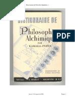 Kamala-Jnana - Diccionario De Filosofia Alquimica.pdf